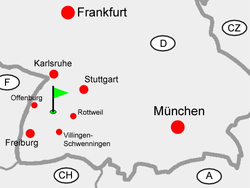 The south of Germany